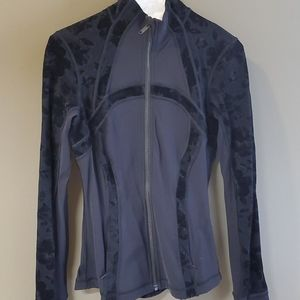 Lululemon LIMITED EDITION jacket w/ velvet detail